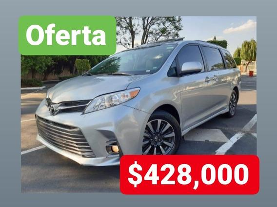 Toyota Sienna 2019 3.5 Xle Piel At