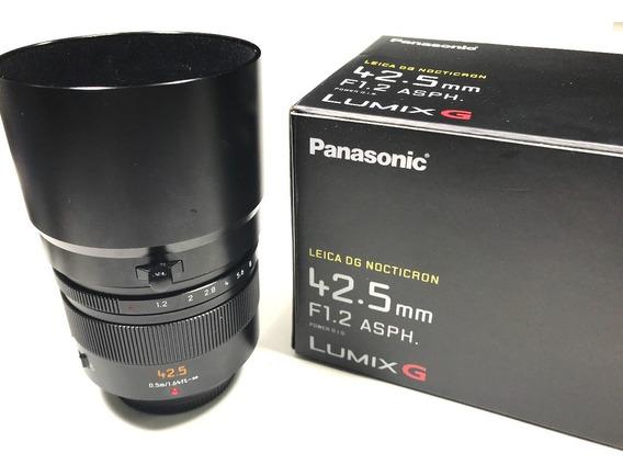 Lente Leica Dg Nocticron 42.5mm F/1.2 P/ Panasonic E Olympus