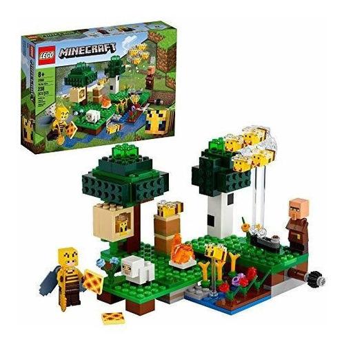 Lego Minecraft The Bee Farm 21165 Minecraft Juguete De Acció