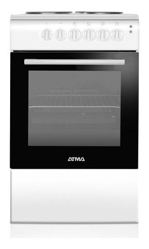 Cocina Electrica Atma Cce 3110b 50cm Blanca Selectogar6