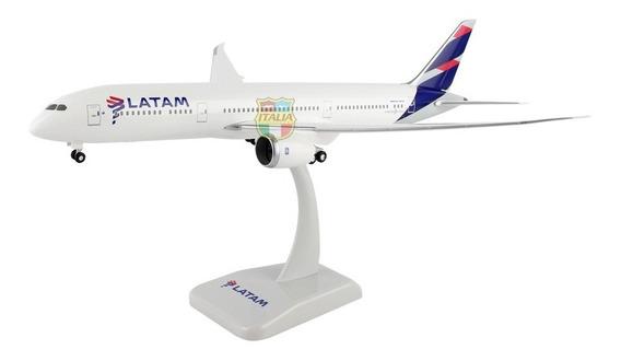 Boeing 787-9 Latam 1:200 Hogan Com Trem De Pouso