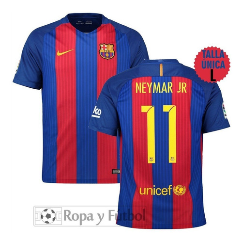 Camiseta Nike Fc Barcelona 2016/17 Neymar Jr. - Talla L