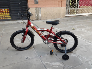 Bicicleta Rodado 15 Con Rueditas Liberty