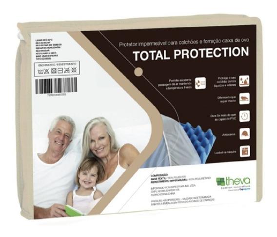 Capa Impermeável Colchão Solteiro Total Protection Theva