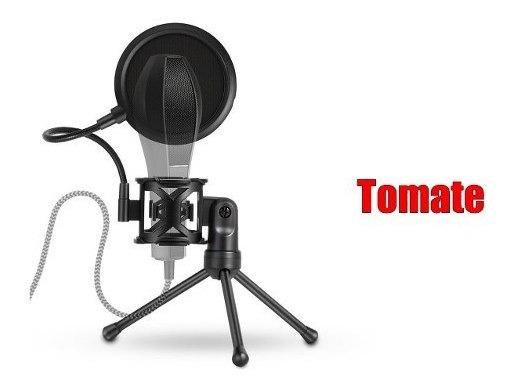 Suporte Microfone Mesa Com Condensador
