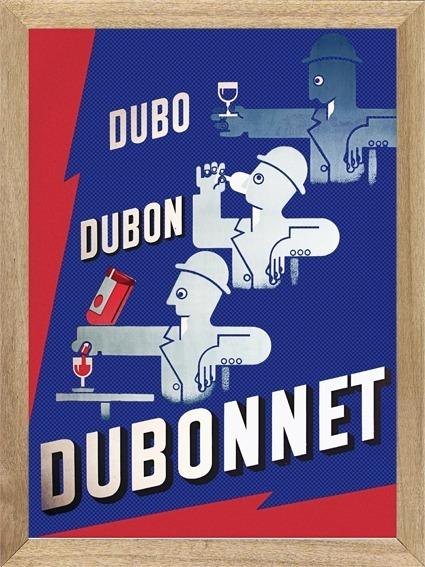 Aperitivo Dubonnet Cuadros Posters Carteles Publicidad X553