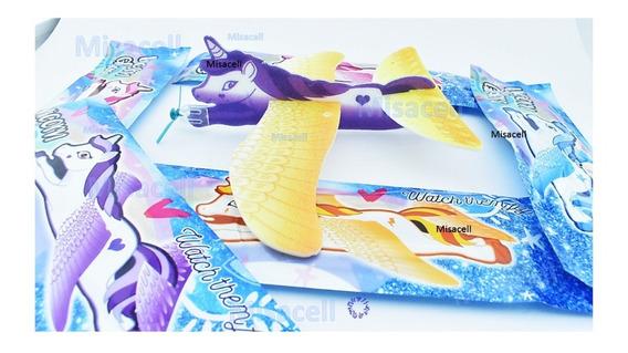 10 Unicornios Voladores, Juguete Económico, Piñata, Bolo :)