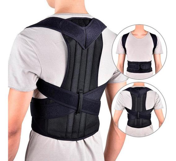 Corrector De Postura Y Faja Unisex Ortopédica Cómodo Full
