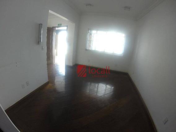 Casa Comercial Para Locação, Centro, São José Do Rio Preto. - Ca1378
