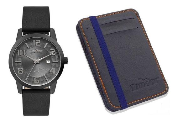 Kit Relógio Condor Masculino Co2115kve/k2c
