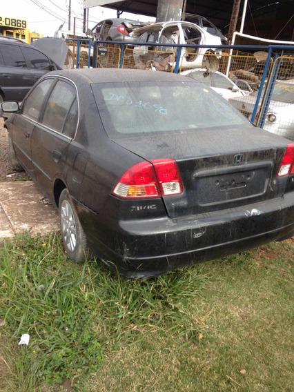 Sucata Civic 1.7 2005 Automático