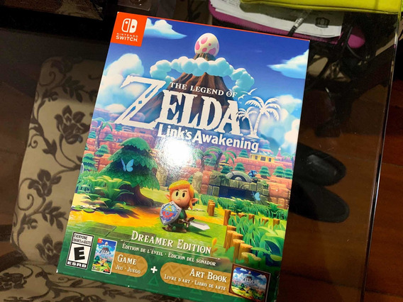 Zelda Links Awakening Dreamer Edition Nintendo Switch Lacrad