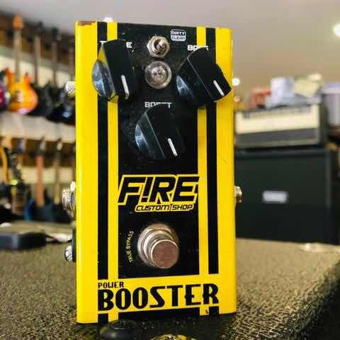 Pedal Fire Booster