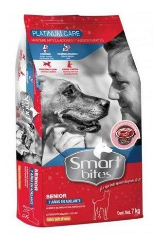 Imagen 1 de 1 de Smart Bites Platinum Care Alimento Para Perro Senior 7 Kg