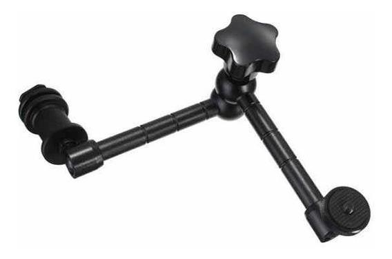 Braço Articulado 11cm Para Cânon Nikon Sony Panasonic Fuji
