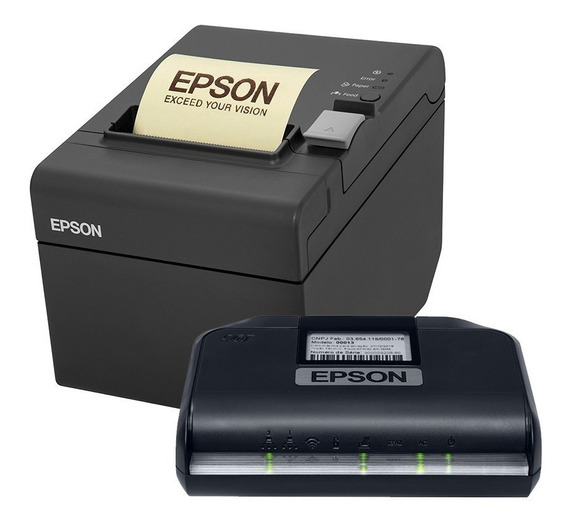 Impressora Térmica Epson Tm-t20 Sat Fiscal Epson