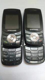 2 Celular Samsung E746 Raridade