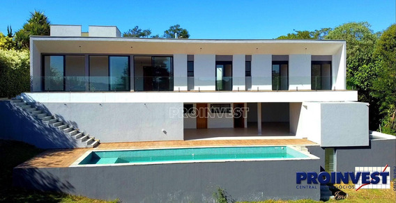 Casa Nova À Venda No Sao Fernando Golf Club Granja Viana - Ca16915