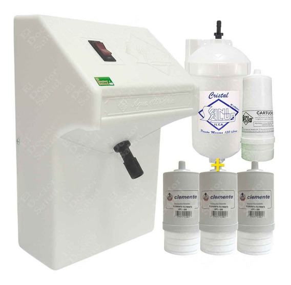 Planta Ozono Sani Salud- Filtro Agua 4 Cartuchos G R A T I S