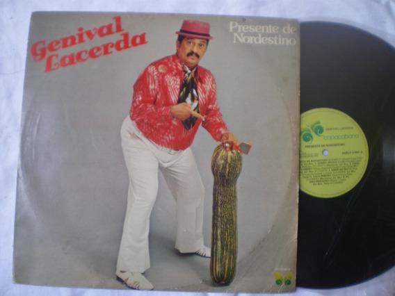 Lp - Genival Lacerda / Presente De Nordestino /copacabana 83