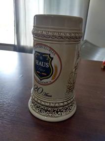 Caneca Cerâmica 20 Anos Haus Bier