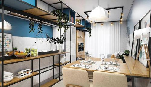 Apartamento Garden 02 Quartos No Iguaçu, Araucária - Gd0448