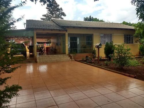 Chácara Com 3 Dormitórios À Venda, 1430 M² Por R$ 420.000,00 - Loteamento Lindóia - Foz Do Iguaçu/pr - Ch0004