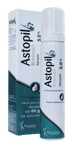 Imagen 1 de 6 de Astopil Minoxidil 5% Espuma 60ml