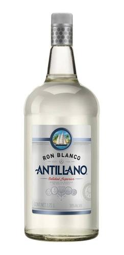 Imagen 1 de 1 de Botella De Ron Antillano Blanco 1l
