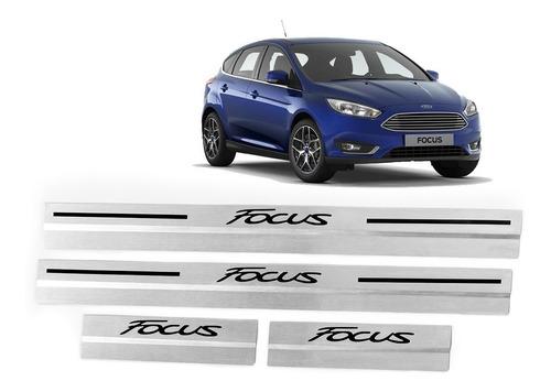 Cubre Zocalos Inoxidable P/ Ford Focus Accesorio