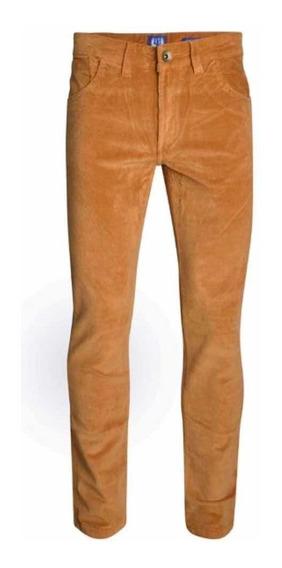Pantalón Largo Corderoy In Extenso Straight Fit Premium