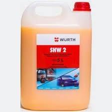 Shampoo Automotivo Com Cera Shw-2 Wurth 5 Litros Jet
