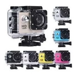 Camara Deportiva Sumergible Full Hd 1080p