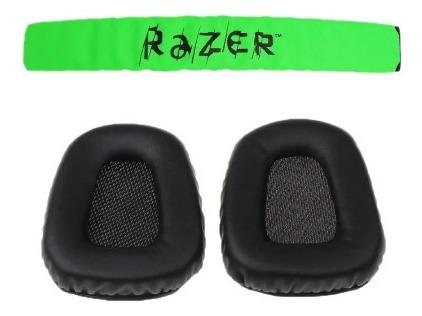 Kit Par De Espumas Razer Electra + 1 Headband Razer Electra