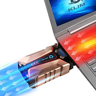 Klim Cool+ Metal Cooler Fan - La Aspiradora De Aire Externo