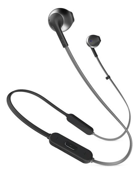 Fone De Ouvido Jbl Tune T205bt Bluetooth Preto Original Nfe