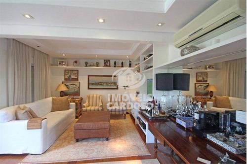 Apartamento Com 3 Dormitórios À Venda, 220 M² Por R$ 4.095.000 - Alto De Pinheiros - São Paulo/sp - Ap18859