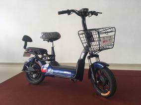 Mini Moto Eletrica 350w Azul