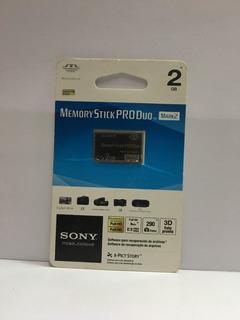 Memory Stick Produo Mark2 2gb Sony