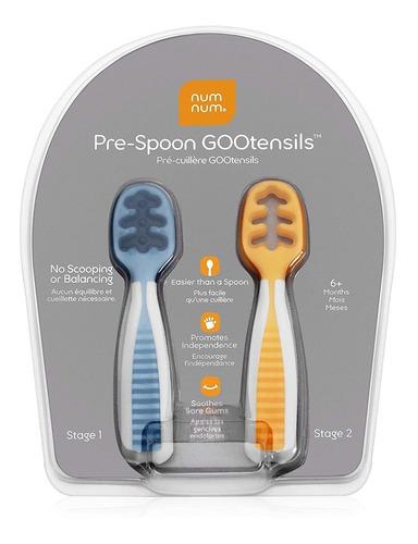 Numnum Pre Spoon Gootensils  juego De Cucharas Para Bebé...