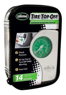 Inflador Compresor Portatil Slime Auto Moto Bici Cuatri Sti