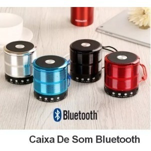 Caixa De Som Bluetooth Mini Speaker Fm Cartão Radio Usb W887