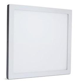 Painel Plafon Sobrepor Quadrado Led 48w 60x60 6000k Frio