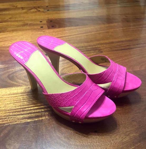 Sandalias Nine West Nuevas Color Rosa