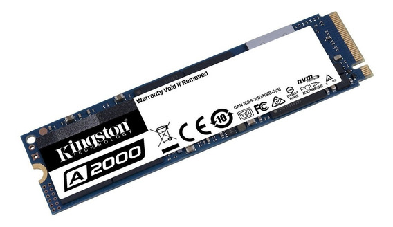 Ssd Kingston A2000 500gb M2 2280 Pcie - Sa2000m8500g
