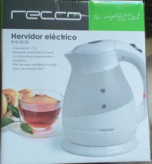 Hervidor Electrico Marca Recco Capacidad 1.2 Litro