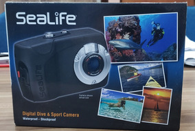 Camera Sealife Mergulho Waterproof Digital