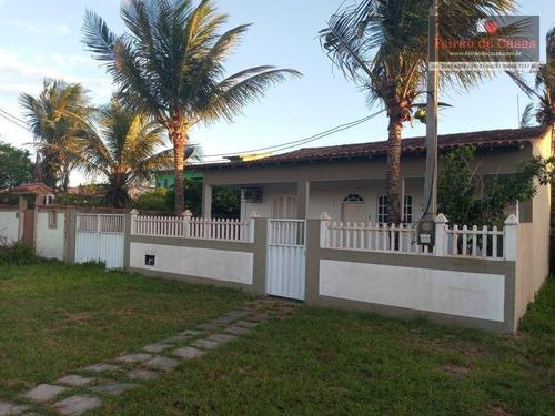 Casa Com 3 Dormitórios À Venda, 100 M² Por R$ 270.000,00 - Unamar (tamoios) - Cabo Frio/rj - Ca0245
