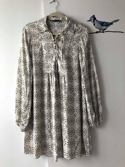 Lindo Vestido Zara Estampado