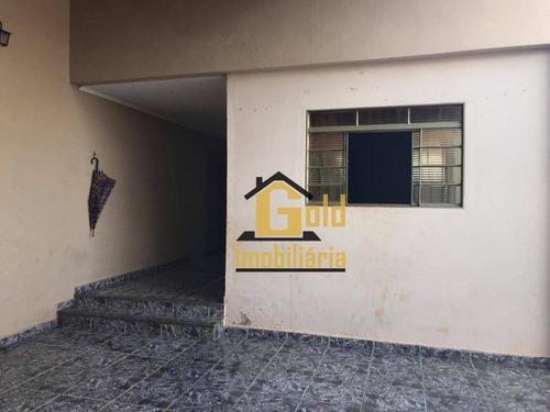 Casa Com 2 Dormitórios 1 Suíte Para Venda, 94 M² Por R$ 214.000,00/ - Quintino Facci 2 - Ribeirão Preto/sp - Ca0634